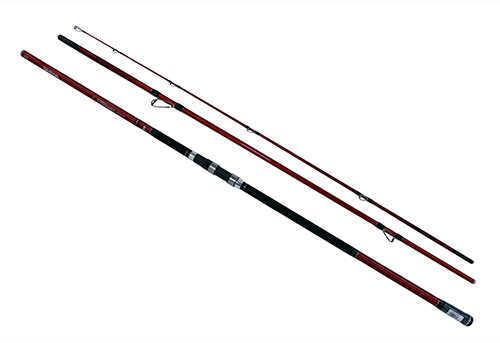 """Daiwa Tournament Ballistic Surf Rod, 13'3"""" 3-Piece Rod, 17-40 lb Line RAate, Heavy Power Md: TNBA33-405G"""