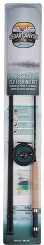 Shakespeare Cedar Canyon Premier Kit 9' Length, 4 Piece Rod, 5/6wt Line Rating, Ambidextrous Md: 1400168