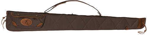 "Browning Lona Case 52"", Canvas/Leather Shotgun Case, Flint/Brown Md: 1413886952"