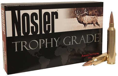 Nosler 33 Trophy Grade Ammunition, 265 Grains, AccuBond Long Range, Per 20 Md: 60099