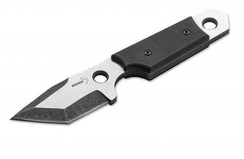 Boker Knives Plus Fixed Knife Eddleman Tanto Dashi Neck, 1 86