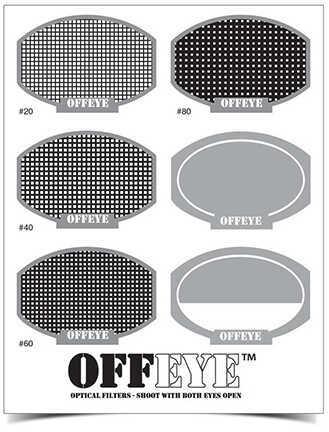 Birchwood Casey Off-Eye Optical Lens Filters Assorted Kit Md: 43461