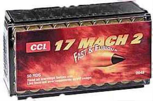 CCI 17 Mach 2, 17 Grain, V-Max (Per 50) 0048