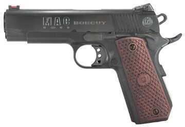 "American Classic MAC 1911 45 ACP Bobcut 4.5"" Barrel 8 Round Blued Semi Automatic Pistol M19BC45B"