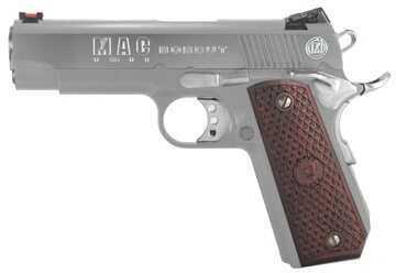 "American Classic MAC 1911 Bobcut 45 ACP 4.25"" Barrel 8 Round Chrome Semi Automatic Pistol    M19BC45C"