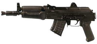 "Arsenal, Inc. SAM7K 7.62x39 10.5"" Barrel 5 Round Black Semi Automatic Pistol SAM7K-01"