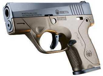 "Beretta Nano 9mm Luger 3.07"" Barrel 6 Round 2 Magazines Flat Dark Earth Semi Automatic Pistol SPEC0556A"