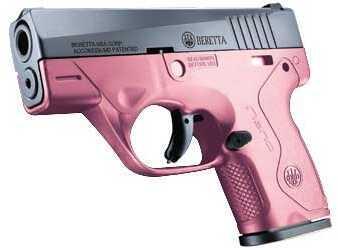 """Beretta Nano 9mm Luger 3.07"""" Barrel 6 Round Pink 3-Dot Pistol SPEC0557A"""
