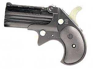 "Cobra Firearms Big Bore Derringer 38 Special 2.75"" Barrel 2 Round Black Grip Blued Finish CB38BB"