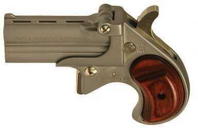 "Cobra Firearms Cobra Enterprises  Big Bore 38 Special  2.75"" Barrel 2 Round  Wood Grip Satin Nickel Finish Pistol CB38SR   CB38"