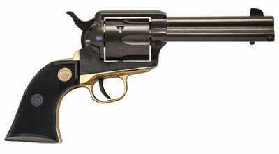 "Chiappa 1873 22 Long Rifle 4.75"" Barrel 6 Round Black/Gold Revolver 1873-22"