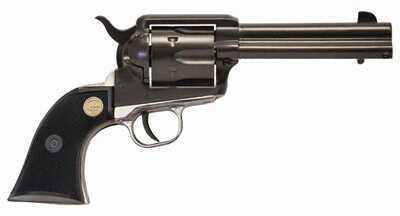 "Chiappa 1873 22 Long Rifle 4.75"" Barrel  6 Round  Black and Silver Revolver 1873-22"
