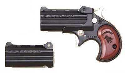 "Cimarron Derringer 38 Special / 32 H&R Magnum  2.75"" Barrels 2 Rounds Revolver Pistol CB38BR"