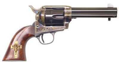 "Cimarron Holy Smoker 45 Colt 4.75"" Barrel 6 Round Steel Blue Fixed Sights Revolver PP310GCI01"