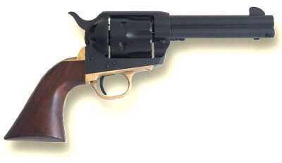 "Cimarron Big Iron 45 Colt 4.75"" Barrel 6 Round Steel Black Fixed Sights Revolver PP450"
