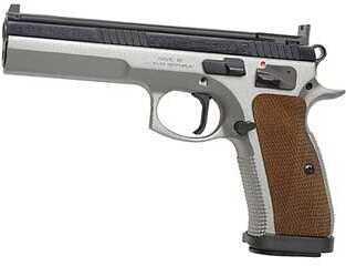"CZ 75 Tactical Sport 40 S&W 5.4"" Barrel 17 Round 2 Magazines Semi Automatic Pistol 91171"