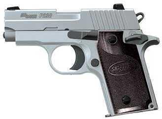 "Sig Sauer P238 HD 380 ACP 2.7"" Barrel 6 Round G10 Grip Stainless Steel Semi Automatic Pistol 238-380-HD-CA"