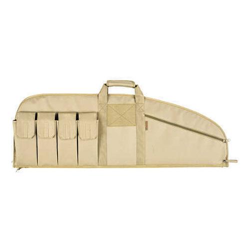 "Allen Cases Tactical Gun Case (37"") Combat Rifle, 5 Pockets, Tan"