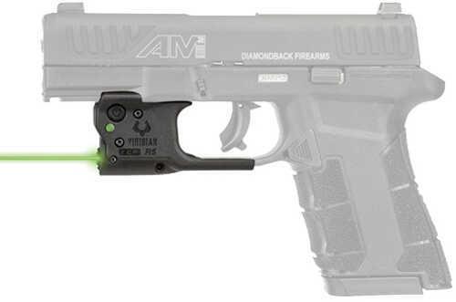 Viridian Weapon Technologies Reactor 5 Laser Sight Diamondback AM2, Green Laser, Black