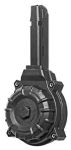 ProMag 9mm for Glock Pistols Drum Magazine, 50 Rounds, Black