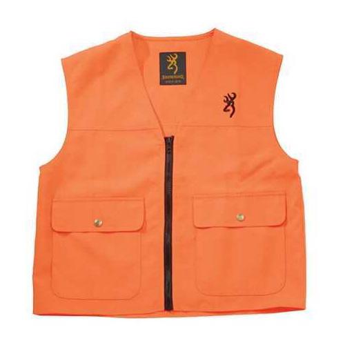 Browning Safety Blaze Overlay Vest Blaze, Large 3051000103