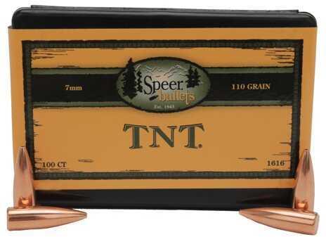 Speer Bullets, 7mm 110gr TNT HP - Brand New In Package