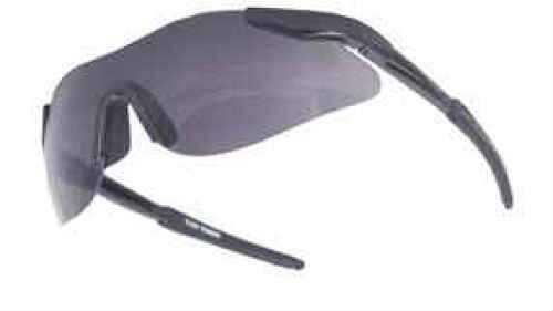 Radians Buckshot II Glasses Clear Lens, Black Frame BS8610CS