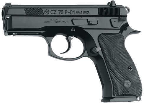 Pistol CZ USA P-01 9mm Luger 9mm Luger Luger, Black Polycoat, 10 Round 01199
