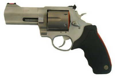 "Revolver Taurus M444 Raging Bull .44 Magnum Ultra Light 4"" Barrel, 6 Round, Adjustable Sights, (Stainless Steel 2444049ULT"