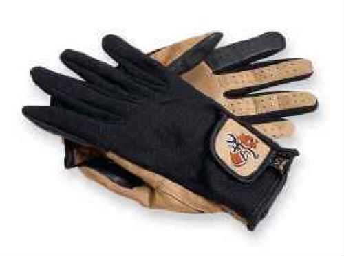 Browning Mesh Back Shooting Gloves Tan/Black, Large 3070118803