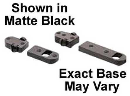 Burris 2 Piece Base Savage Short/Long Round Rear Black Gloss 410245