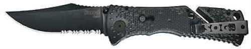 SOG Knives Trident Folding Blade Black TiNi TF-1