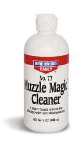 Birchwood Casey Muzzle Magic No. 77 Cleaner, Black Powder, Flip Top 16 oz. 33745