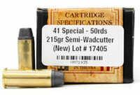 Centerfire Handgun 41 Special