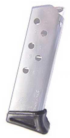 Mecgar Walther 6 Round Standard Nickel MGWPPKFRN
