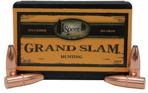 Speer 375 Caliber 285 Gr SP Grand Slam (Per 50) 2473