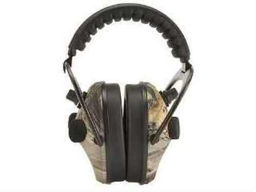 Walker's Game Ear / GSM Outdoors Walkers Game Ear Power Muffs Quad, Realtree HD Green PMQCRT