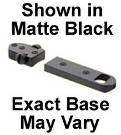 Burris Trumount Universal Reversible Extension Bases Savage Round Rear Matte 410249