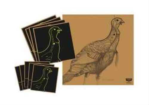 "Birchwood Casey Turkey Target Turkey Vital Targets 12"" x 12"" ( 4 Pack) 34365"