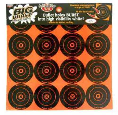 "Birchwood Casey Big Burst Targets 3"" Round 36348"