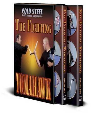 Cold Steel Training DVD Fighting Tomahawk VDFT