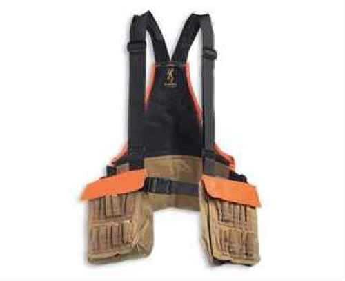 Browning Pheasants Forever Strap Vest, Field Tan/ Orange 30511732