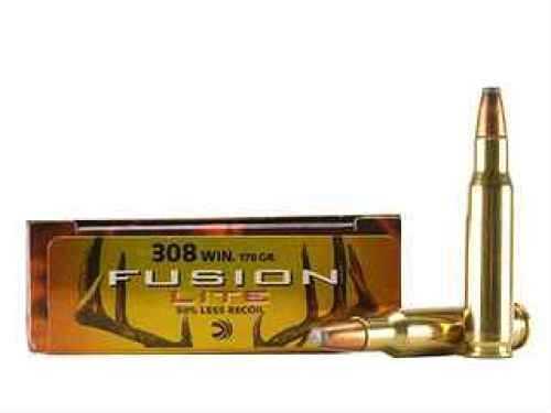 Federal Cartridge 308 Winchester 308 Win, 170gr Soft Point Lite Fusion (Per 20) F308FSLR1