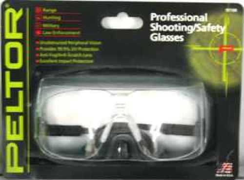Peltor Shooting Glasses Professional Shooting Glasses, Clear Lens 97100-00000