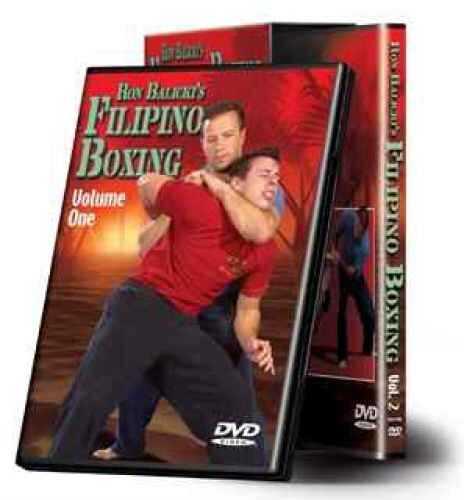 Cold Steel Training DVD Ron Balicki's Filipino Boxing VDFB