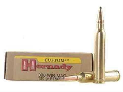 Hornady 300 Winchester Magnum by 150 Gr BTSP (Per 20) 8201