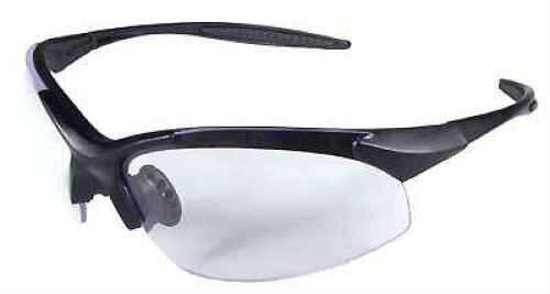 Radians Eternity Glasses Clear Lens, Black Frame ET0110CS