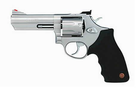 """Taurus M66 357 Magnum 4"""" Barrel 7 Round Adjustable Sights Stainless Steel Revolver 2660049"""
