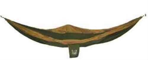 Grand Trunk Single Parachute Hammock Olive Green/Khaki Single Parachute Hammock SH-01