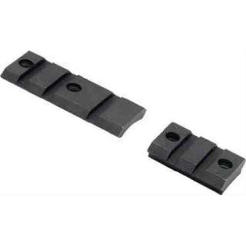 Burris XTB Weaver-Style Solid Steel Bases Remington 700, 2 piece, Matte Black 410600